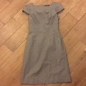 EUC banana republic grey dress sz 4